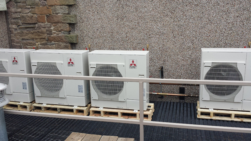 Mitsubishi Electricu0027s Latest Air Source Heat Pumps