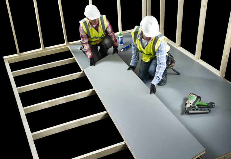 Cabershield flooring from Norbord