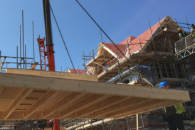 Value of housebuilding contracts fell in April