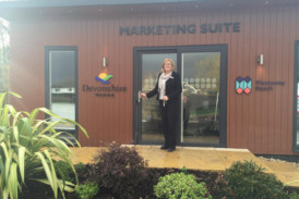 Devonshire Homes opens new sales office at Pilton