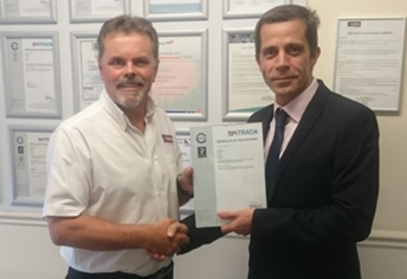 Pasquill receives accreditation