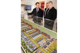 Housing Minister visits Beaulieu