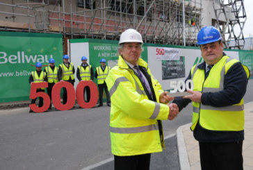 Bellway Homes celebrates 500th client