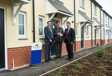 Devonshire Homes completes affordable housing in Tiverton