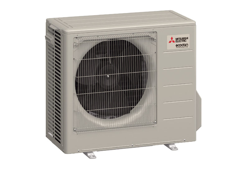 The Mitsubishi Electric Heat Pump designed for new-build housing