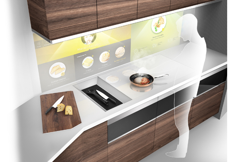 The Kitchen Of The Future Imagined By Whirlpool 183 Phpd