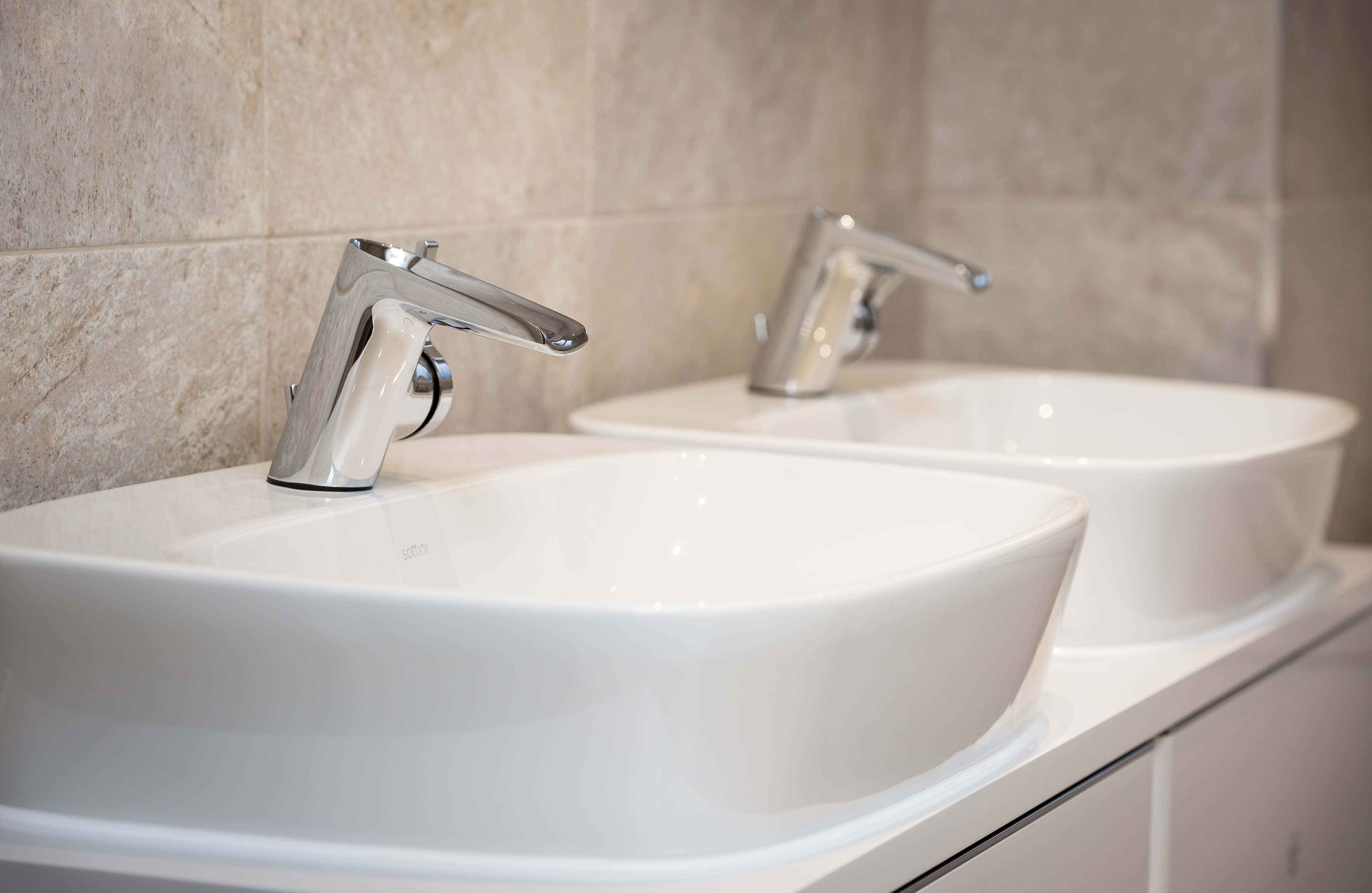 Sottini Bathrooms at Cameron Homes development · PHPD Online