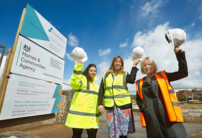 Stonewater begins construction on more than 60 homes in Yeovil