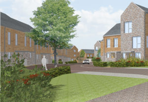 Countryside The Briars artist impression