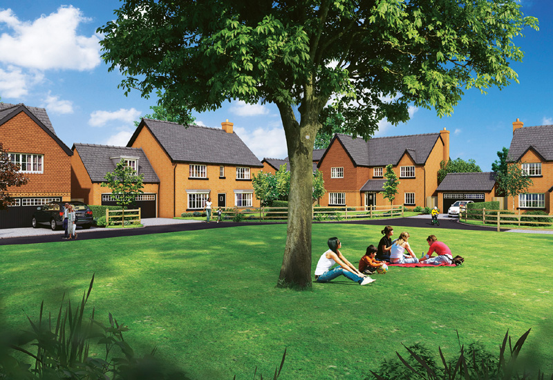 Elan Homes to build in Cheshire's 'golden triangle'