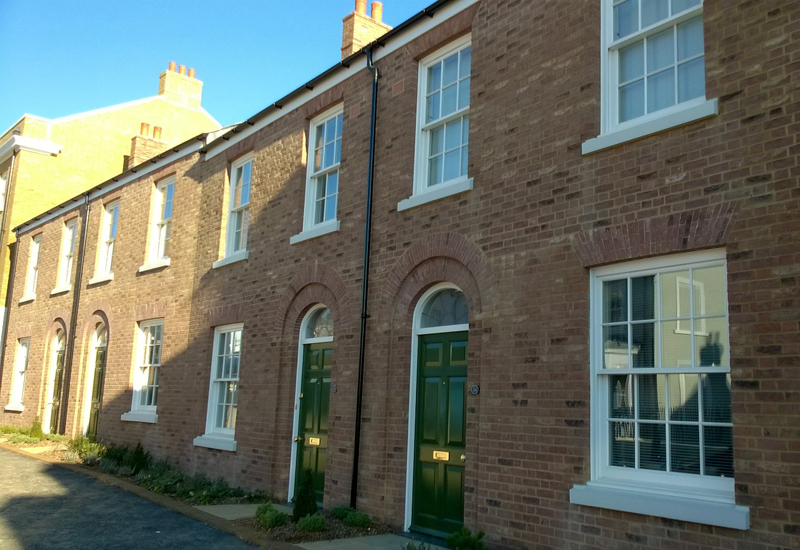 New affordable homes for local people in poundbury phpd for Local house builders