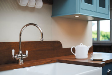 Perrin & Rowe instant hot water tap