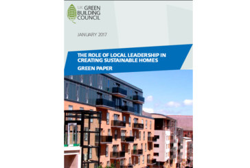 Leadership role for cities in new housing development