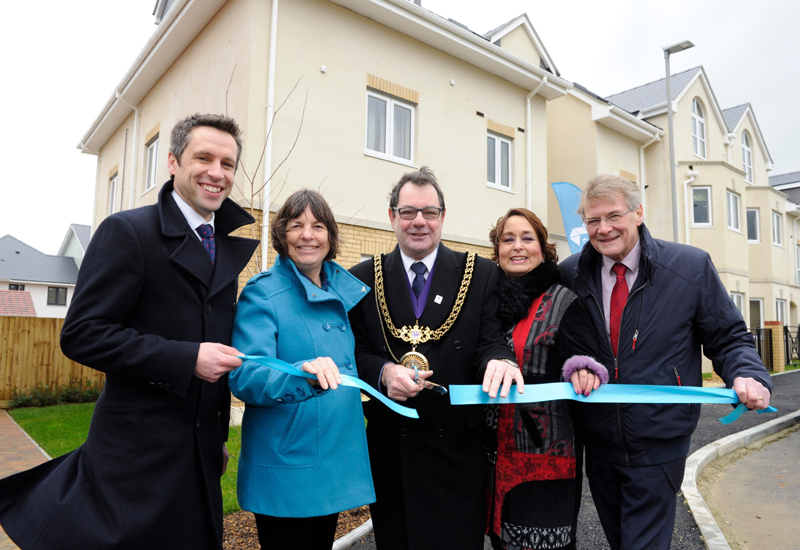 Stonewater completes 46 affordable homes near weymouth for Affordable home builders near me