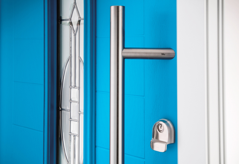 Dales Collection of composite doors reconfigured by Eurocell
