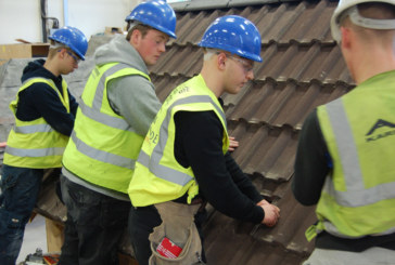 Redland supports skills of roofing students