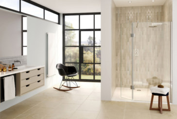 Aqata introduces new shower screens