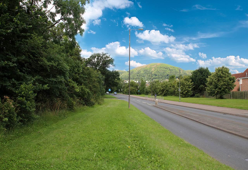 Four acre residential site available in Malvern