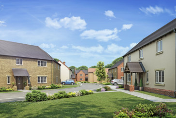 Show home launch at Stokes Rise in Leicestershire