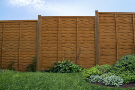 Garden fence panels from BSW Timber