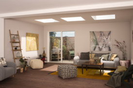 VELUX launches curved glass rooflight