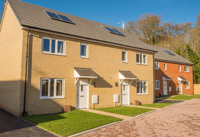 Timber Frame kits from Taylor Lane helps supply new MOD homes