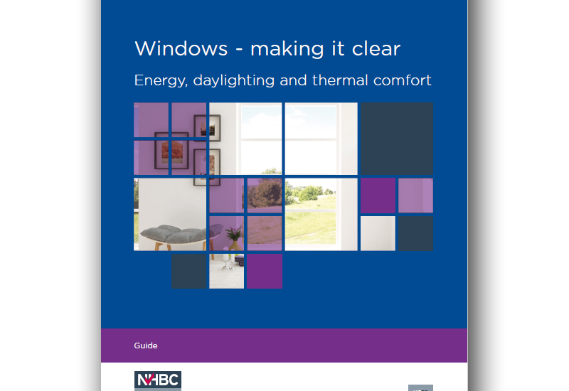 NHBC Foundation provides clear advice on Window design