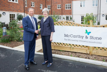 Prime Minister visits McCarthy & Stone development in Maidenhead