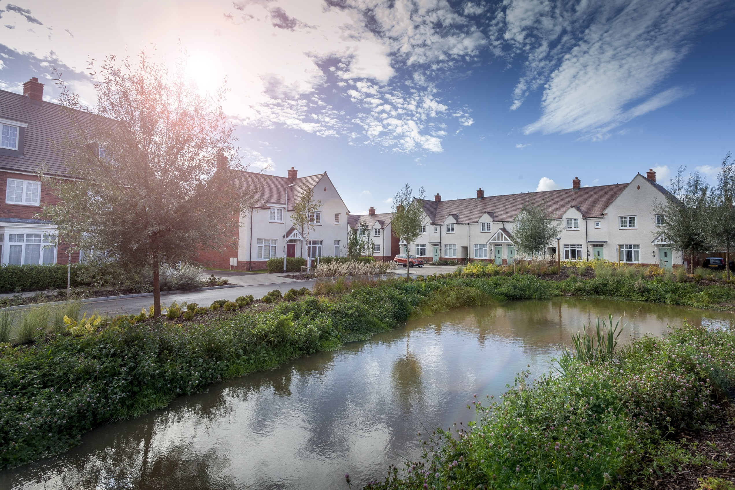 Newport's Loftus Garden Village named best New Development in Welsh Housing Awards