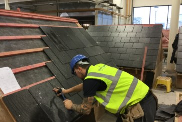 Cembrit donates roofing materials to apprenticeship scheme