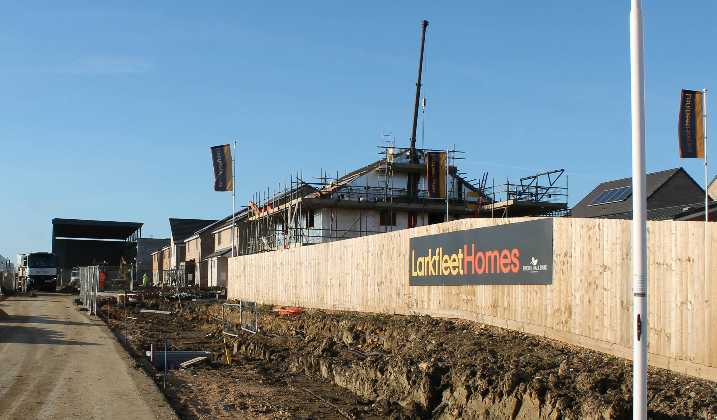 Larkfleet Homes starts the year with a series of land deals