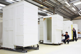 Offsite bathrooms for residential schemes