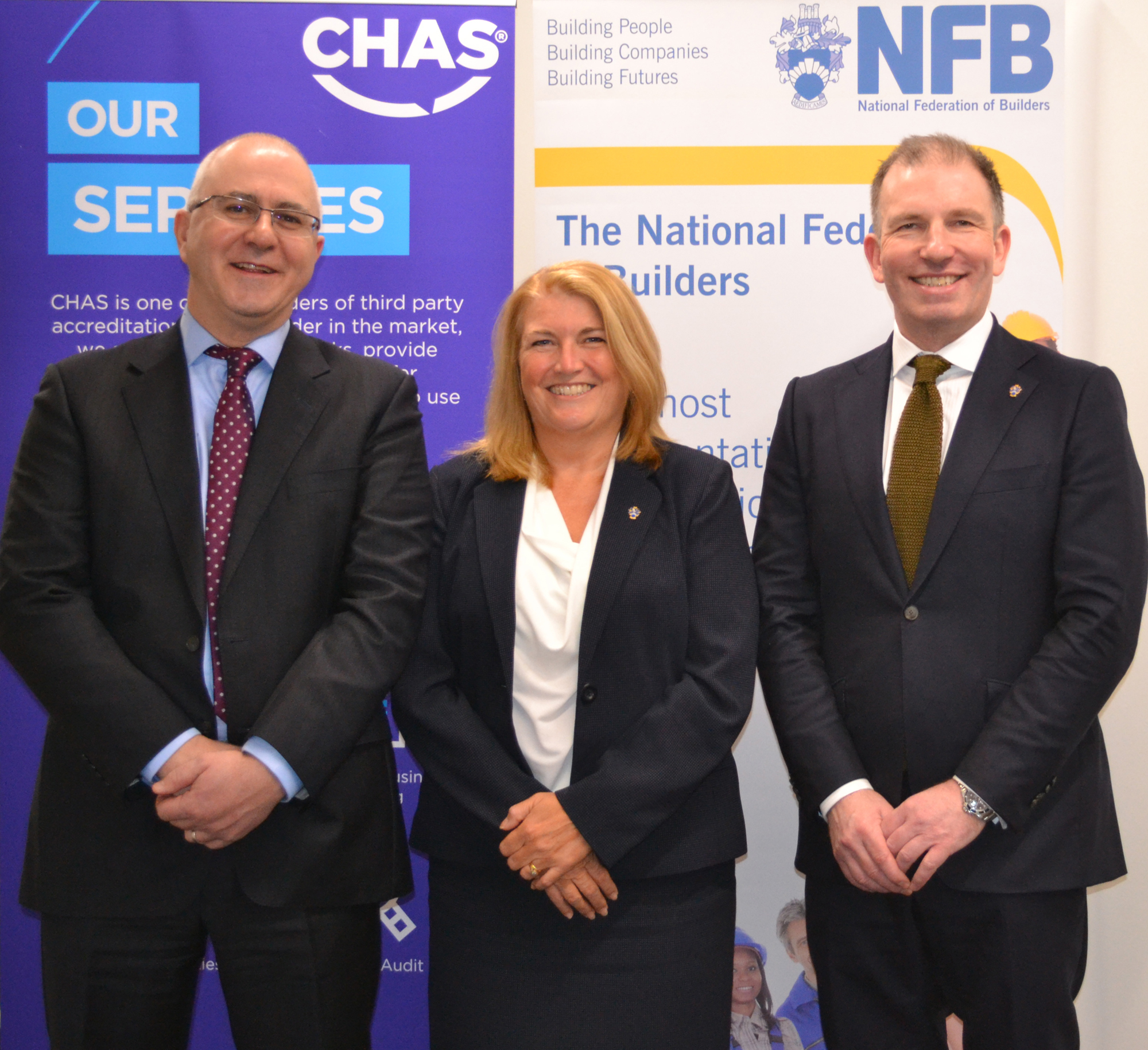 NFB and CHAS announce partnership to promote health and safety standards in UK construction