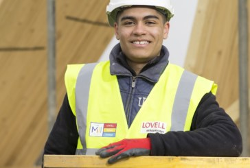 Lovell recruits apprentice as 100th employee in South Wales and South West