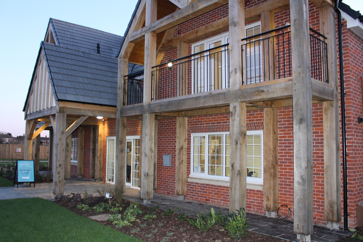 Humberston development reaches completion