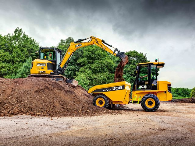 New crawler excavator amongst JCB's latest machines