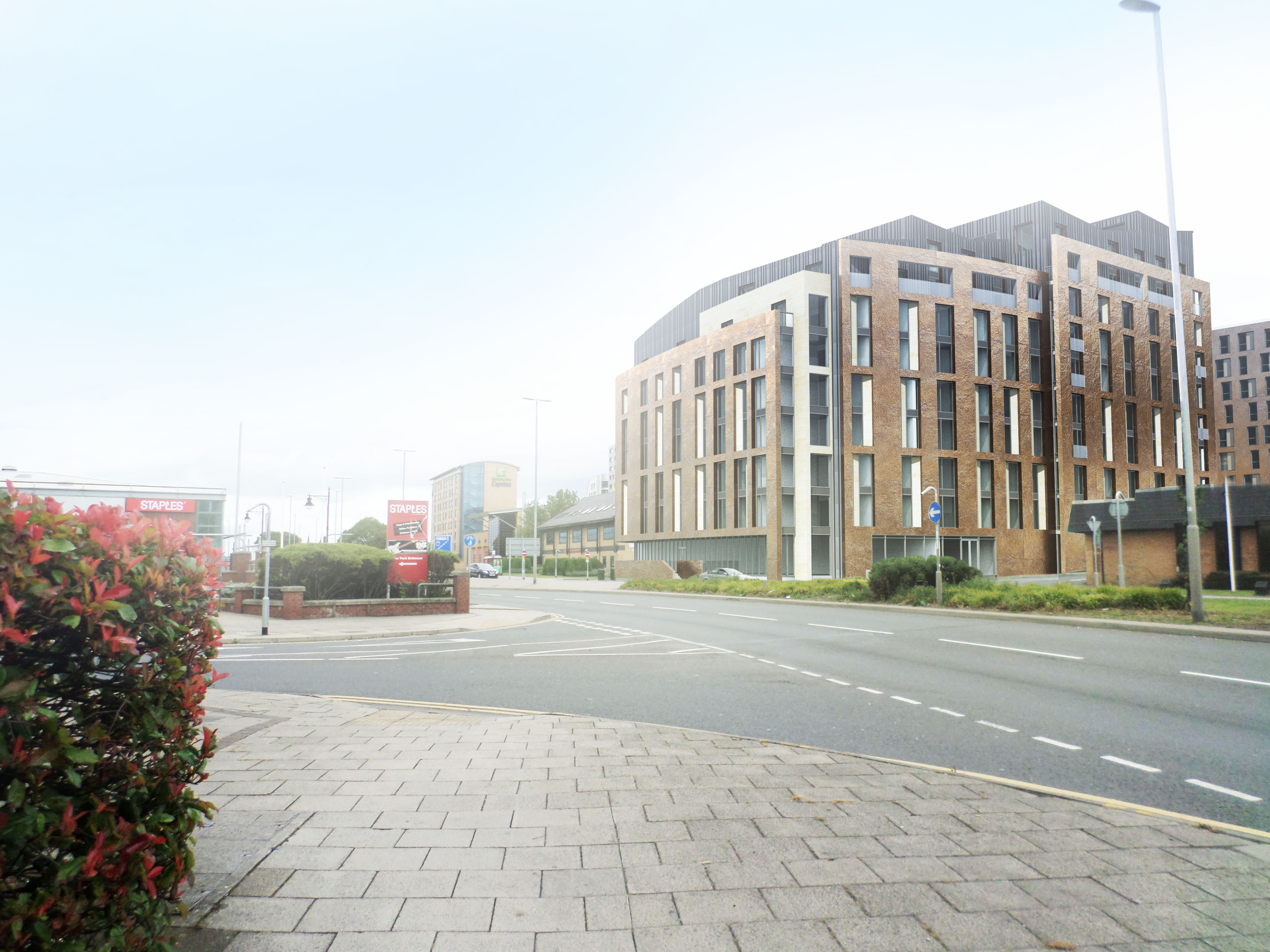 KMRE's Kirkstall Road development is underway after selling for £17.25m