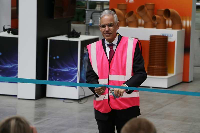 Wavin site expansion opened by Mexican Ambassador