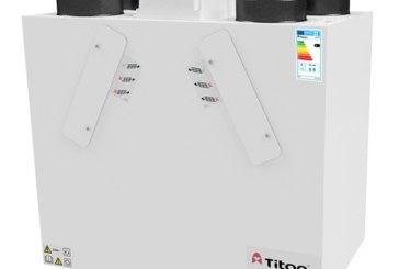 Titon extends MVHR range – new 1.6 Q Plus unit
