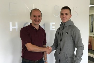 Genesis Homes rewards persistence with apprenticeship