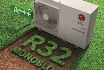 Therma V Monobloc Heat Pump added to LG's R32 range
