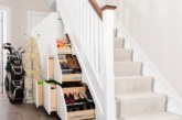Under stairs storage solutions