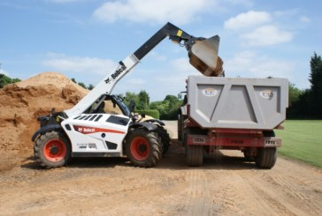 Bobcat Telehandler helps with on-site recycling
