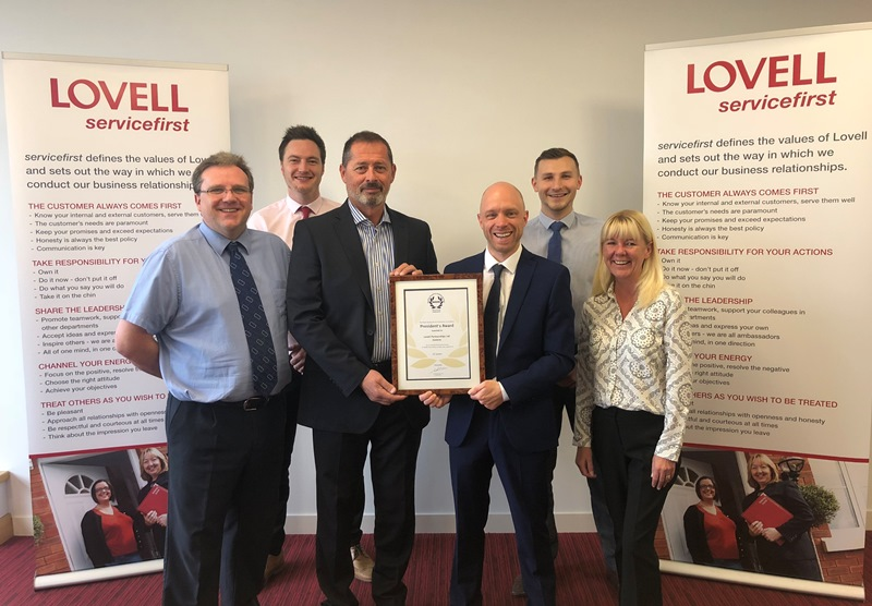 Lovell secures leading RoSPA safety award