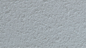 External render with a scraped finish
