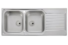 Abode adds new stainless steel sink insert to Connekt range