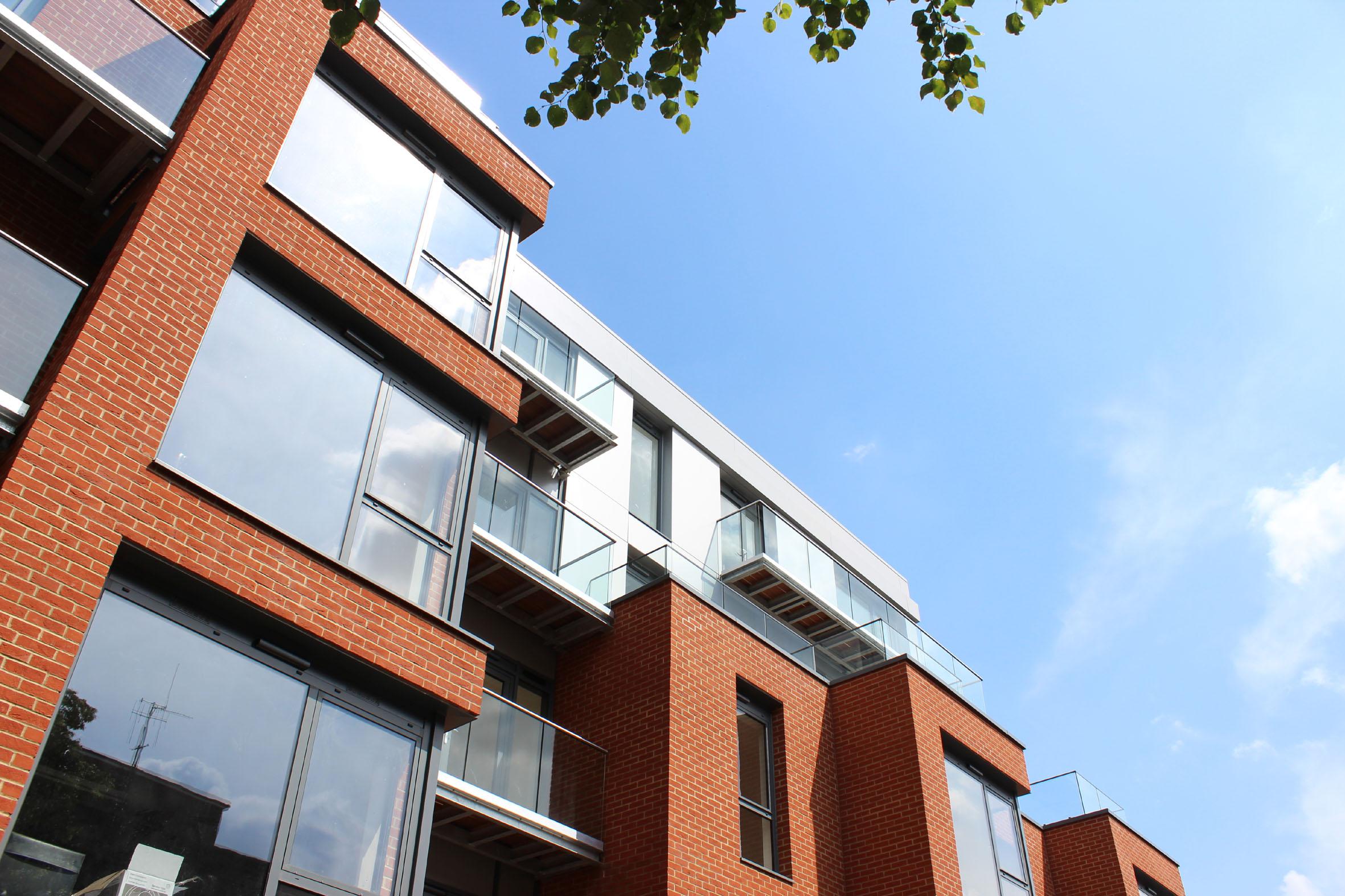 Sapphire Balconies complement character of London's 'Macaulay Walk'