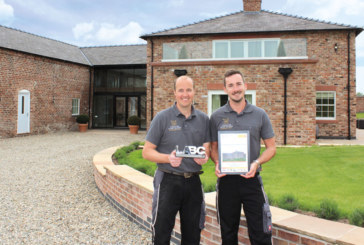 Cheshire Barn Homes win LABC Award