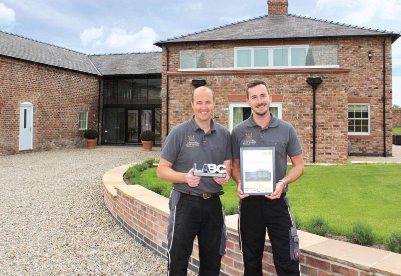 Cheshire Barn Homes win LABC Award