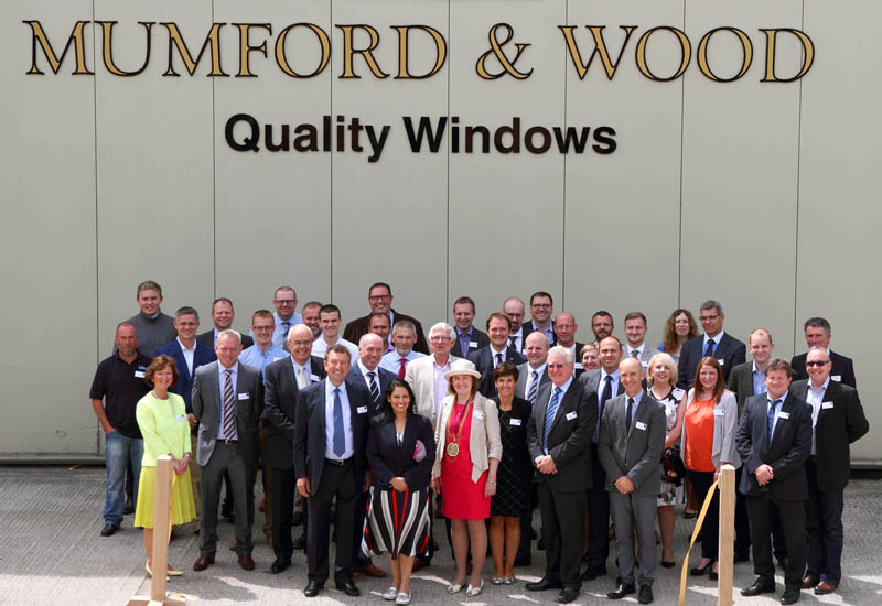 Mumford & Wood opens new timber window production line